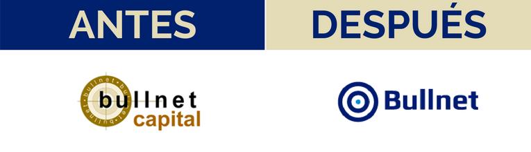 Logotipo antes después