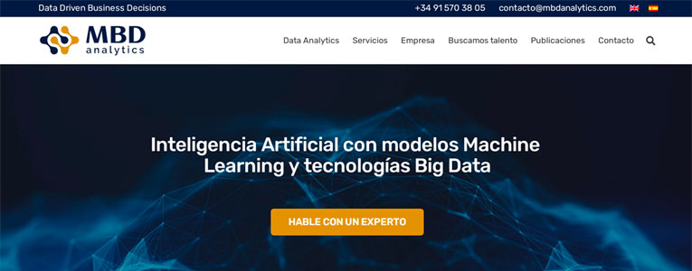 Caso exito web empresa data analytics