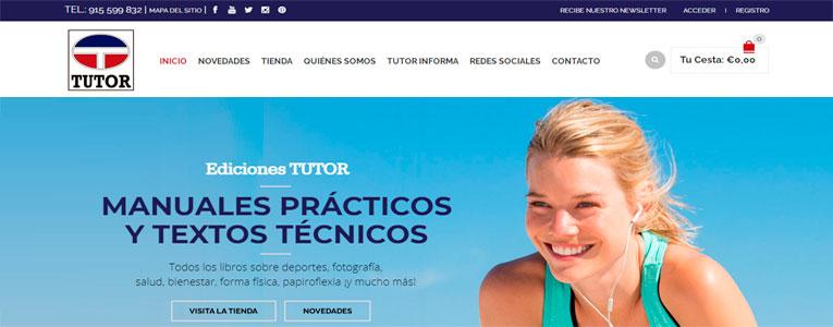 Tienda online y SEO – Ediciones Tutor – Editorial El Drac ::: Caso de éxito