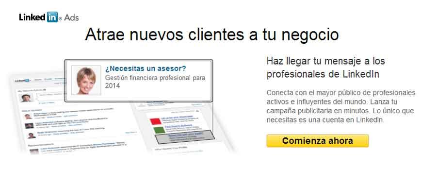 Crear Linkedin Ads por iempresa
